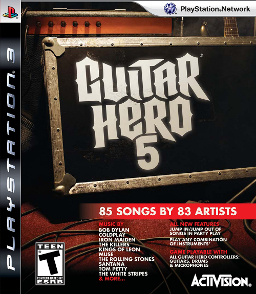 Guitar Hero 5 (PS3, PS2, Xbox 360, Wii, Windows)