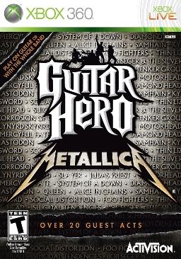 Guitar Hero: Metallica (Xbox 360, PS3, Wii)